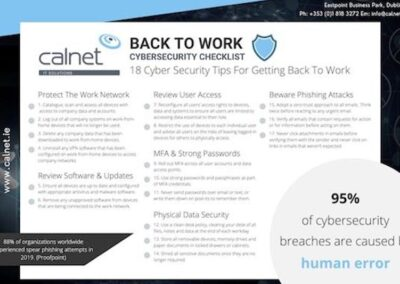 Back To Work Cybersecurity Checklist